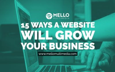 15 Ways a Website Will Grow Your Business